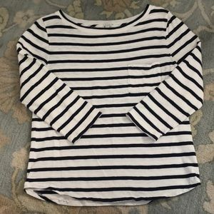 Jcrew sailor stripe shirt